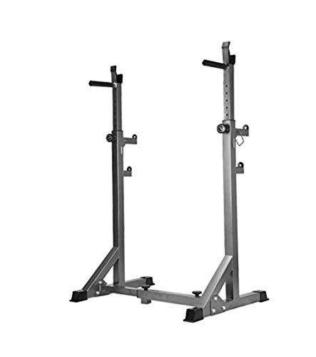 SISHUINIANHUA Squat Rack Bench Press Barbell Frame Multi - Functional Parallel Bar Home Fitness Equipment Pull - Up Device