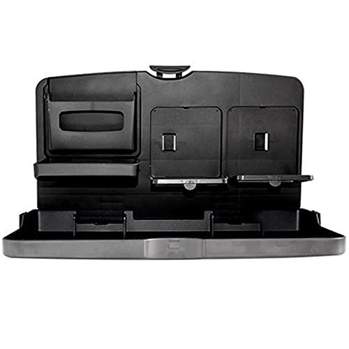 Bncxdc Mesa para asiento trasero de coche, bandeja organizadora de asiento trasero para coche, escritorio oculto Soporte...