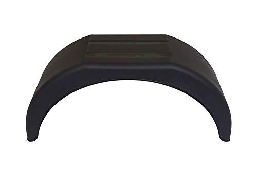 """Garde-boue UNITRAILER pour remorque de voiture avec roues de 14"""" (35,5 cm) - Nœud en PVC"""
