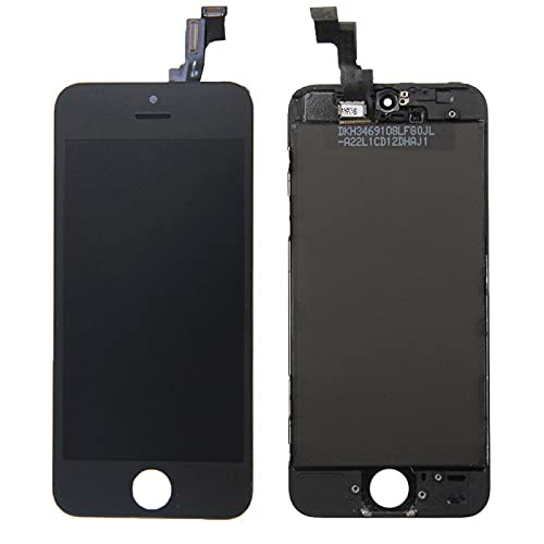 HOUSEPC Display LCD + Touch Screen+ Frame per Apple iPhone 5s Nero Originale Tianma