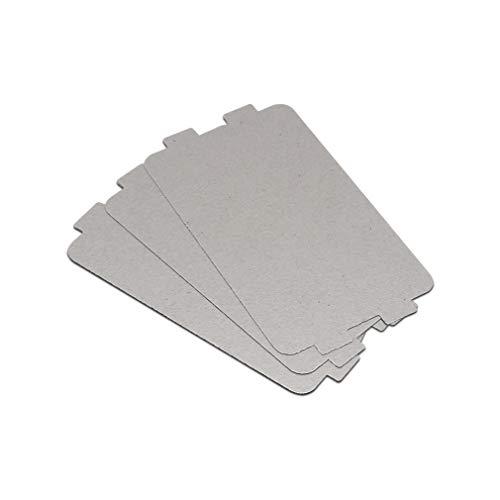Mikrowellenleiter, geeignet für 99% Mikrowellenofen, Verdickungstyp, Mikrowellenblock, 2 Stück Small Foto scannen