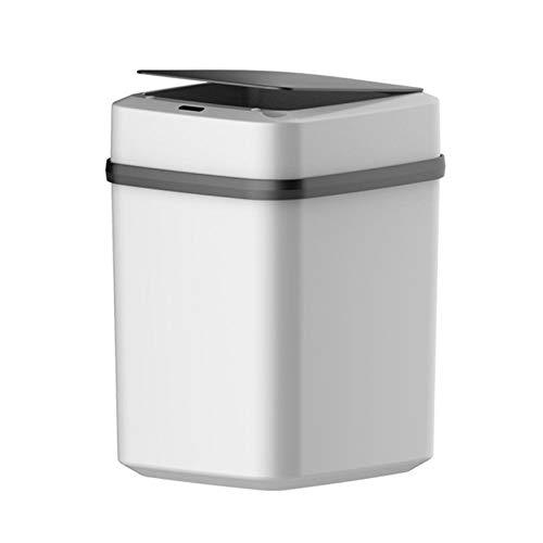 Home Smart Trash Can Induction automatique avec couvercle Salle de bain Salle de bain innovante Cuisine Chambre Chambre