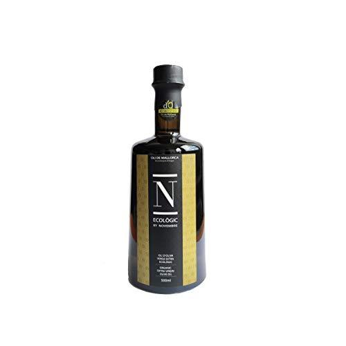 OLI NOVEMBRE - Ecologic Oli de Mallorca Premium Native Bio Olivenöl Extra Virgin ungefiltert aus 100% Arbequina Oliven 500ml