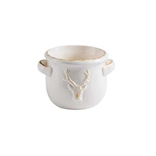 Jarra de leche pequeña Jarra de leche de cerámica retro de estilo europeo, jarra de leche exquisitamente relieve, salsa de estilo occidental, café, taza de leche de miel, vajilla de doble taza de lech