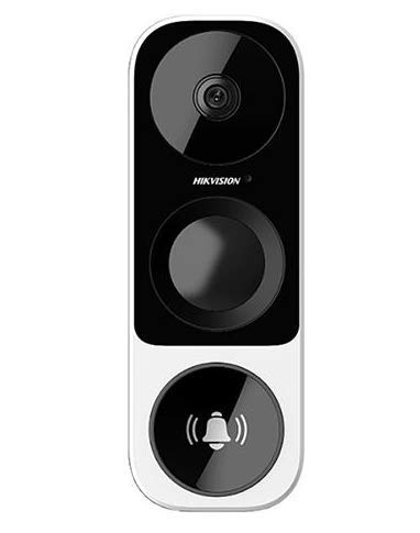 HIKVISION DS-HD1 3MP Outdoor Wi-Fi Smart Doorbell Camera, US Version