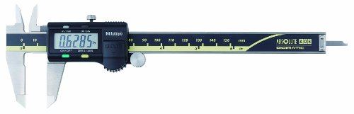 Mitutoyo 500-196-30CAL Absolute Advanced Onsite Sensor (AOS) Digital Caliper with Calibration, Inch/Metric, 0-6' Range, 0.0005' Resolution, +/-0.001' Accuracy
