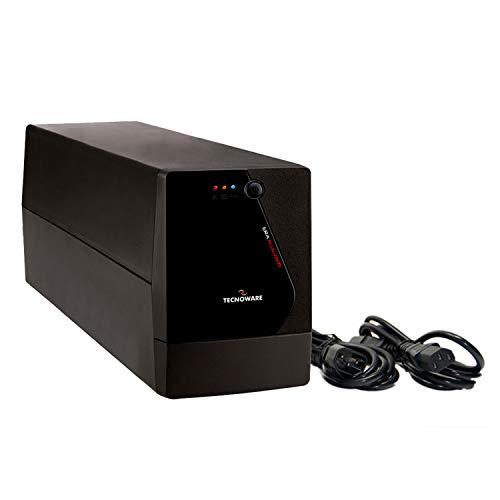 Tecnoware UPS ERA PLUS 2600 Gruppo di Continuità - 6 Uscite IEC - Autonomia fino a 50 min - Potenza 2600 VA
