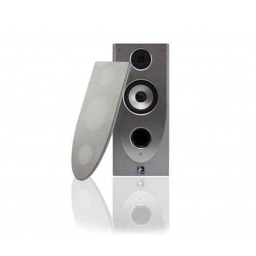 Ett Satellitenbox McVoice Symphony S60 2-Wege 60 Watt Silber 757275