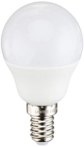 LIGHTME Varilux 3 Step - Bombilla LED (intensidad regulable, 5 W, 470 lúmenes, ópalo, 45 x 79 cm)