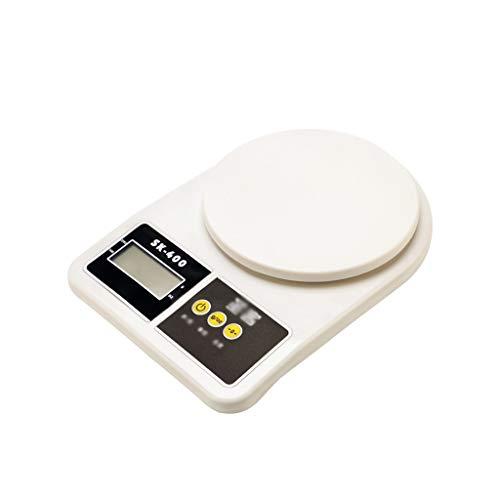 BingWS Smart personenweegschaal digitale keuken kooking Food Scale Stijlvol slank design met elektronische weegschaal voor thuis + keuken, wit medische apparaten