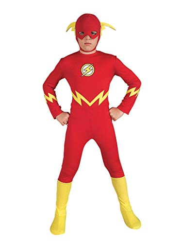 Rubies Costume Enfant de The Flash (882112) Talla S (3 - 4 años) Rouge