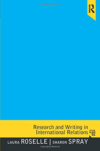 Research and Writing in International Relations (2nd Edition)