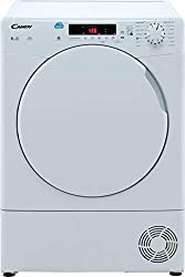 8kg drum capacity B energy rating Condenser tumble dryer 14 drying programmes Dimensions 850 (H) x 596 (W) x 600 (D)