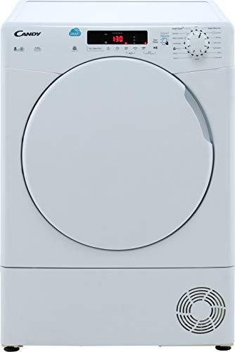 Candy Smart CSC8DF 8Kg Condenser Tumble Dryer - White