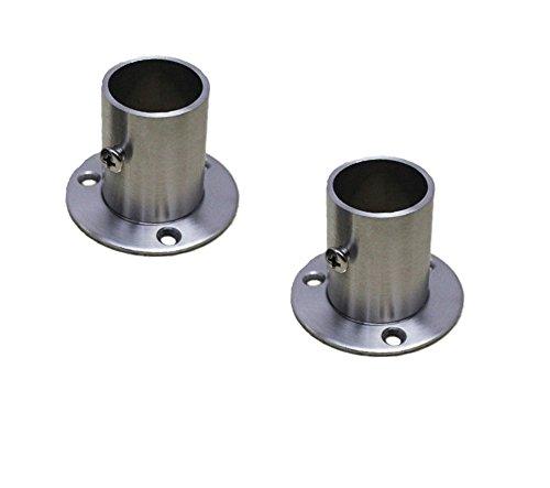 NELXULAS Soporte de brida de acero inoxidable para tubo (AX1)