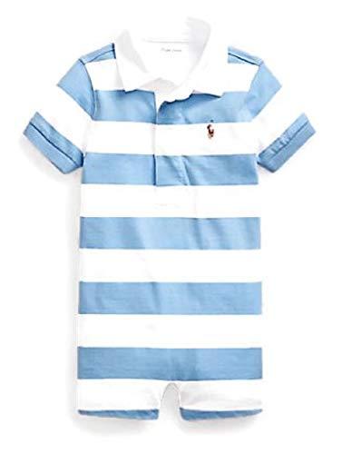 Ralph Lauren - Pantaloni corti in maglia di cotone, 18 m, colore: blu navy