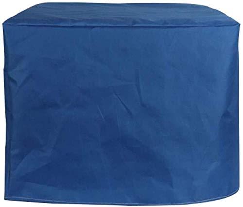 Cubiertas para Muebles de Patio Lona de Cubo para Exteriores 100% Impermeable Cubierta de sofá de jardín Protección para Equipos 28 Tamaños (Color: Azul, Tamaño: 100X80X100cm)
