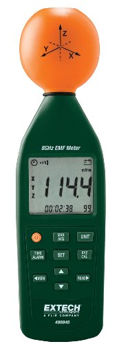 Extech 480846 Medidor de intensidad de campo electromagnético de RF de 8 GHz