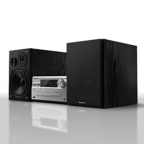 Panasonic SC-PMX802E-S Premium Micro-Stereoanlage (Bluetooth, Airplay, DAB+, CD, UKW) silber
