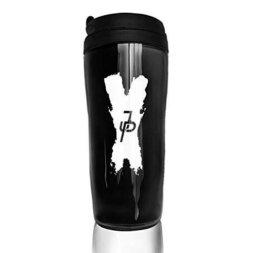 Qurbet Tazza da Viaggio da caffè, Bottiglia d'Acqua, Jake Paul X, Milk Tea Drinking Bottiglia d'Acqua Coffee Mug Carry Hand Cup for Women Men