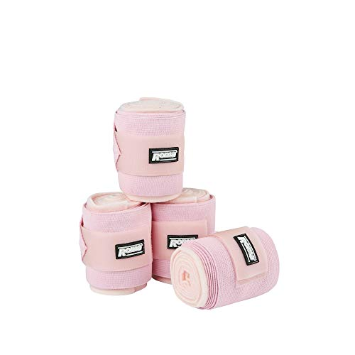 Roma Fleece-Kombi-Bandage, elastisch (3 m) (Pink)