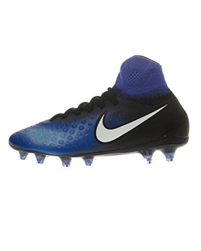 Nike 844410-015, Botas de fútbol Unisex Adulto, Negro (Black/White-Paramount Blue-Blue Tint), 38 EU