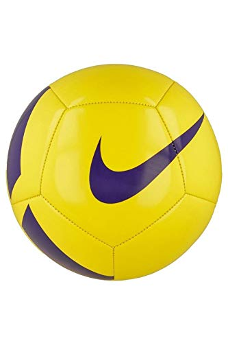 Nike NK Pitch TEAM Ball, Unisex, Yellow (Yellow/Purple), 5