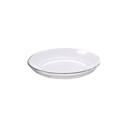 Leonardo 020695 plat de service rond verre transparent 6pezzo (les) plat plan