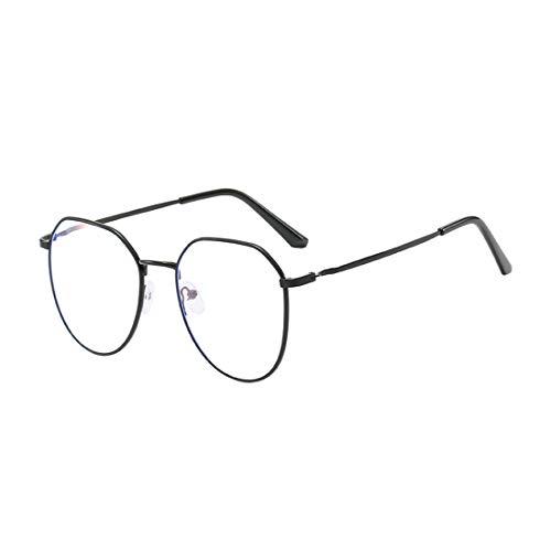 MU CHAOHAI Metaal Onregelmatig College Stijl Unisex Bijziende Bril -0,50 tot -6,0