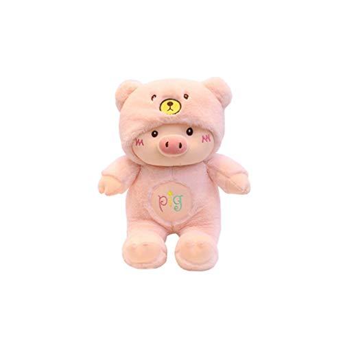 HUOQILIN Little Pig varken pop McDull varken knuffel pop kussen gift zegen varken (Color : 1, Size : 45cm)
