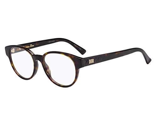 Dior LADYDIGOLD1 086 49 Gafas de sol, Marrón (Dark Havana), Mujer