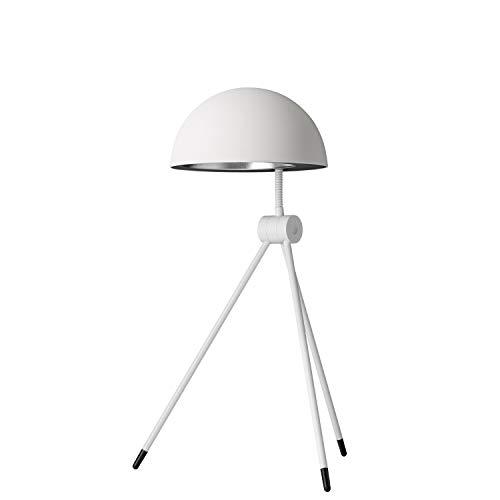 Lámpara de mesa escritorio modelo Radon Alba, diseñada por Hans Sandgren Jakobsen, iluminación flexible y ajustable, acero,, 32 x 32 x 52 centímetros, color blanco (referencia: 62705005)
