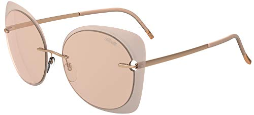 Silhouette Gafas de Sol ACCENT SHADES 8164 ROSE GOLD/PINK GREY talla única mujer