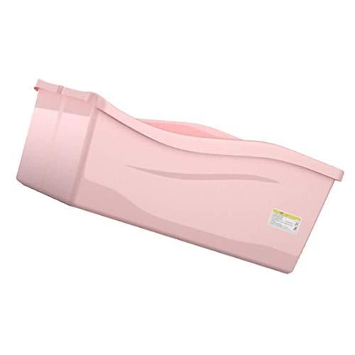 ZM HL MM Huisdier Hond Badkuip Opvouwbaar Vierkant Schoonheid Zwembad Douche Kunststof, roze