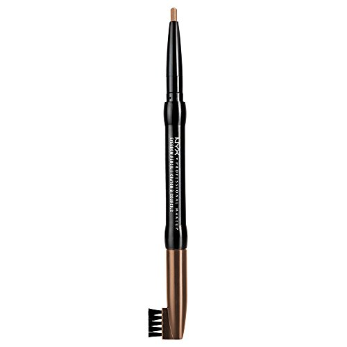 eye brow pencils NYX Auto Eyebrow Pencil, Light Brown