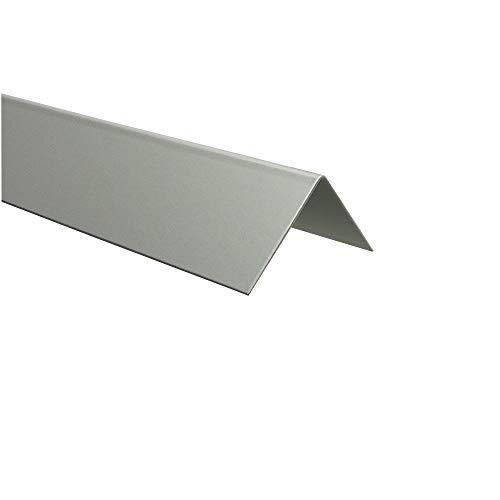 Sockelleiste Aluminium Eloxiert Silber natur 2000 mm 1,0 mm (50 x 30 x 1,0 mm)