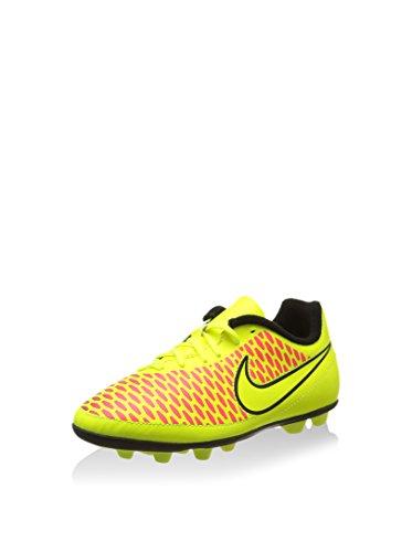Nike Botas de fútbol Jr Magista Ola FG-R (Xm31) Amarillo/Naranja EU 34 (US 2.5Y)