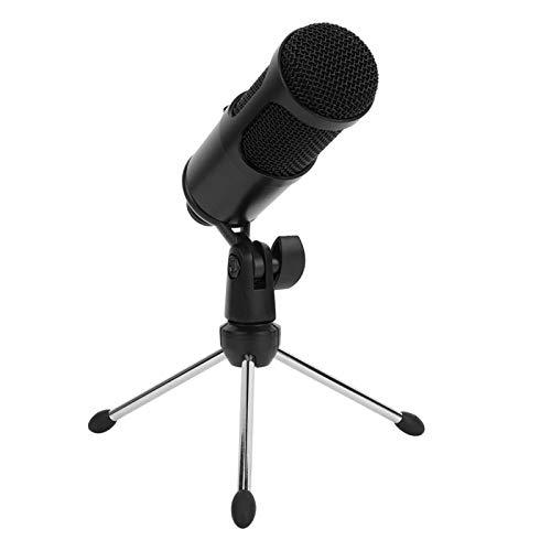 Micrófono USB para ordenador, 192 kHz / 24 bits condensador portátil Gaming micrófono para Skype YouTube enseñanza