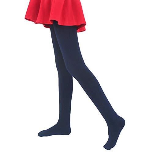 LOLANTA Mädchen Winter Strumpfhose Dickes Fleece Gefüttert Dehnbar Weiche Strumpfhose Schuluniform