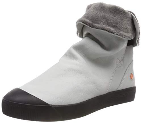 Softinos Damen KAZ469SOF Hohe Stiefel, Weiß (White 001), 38 EU