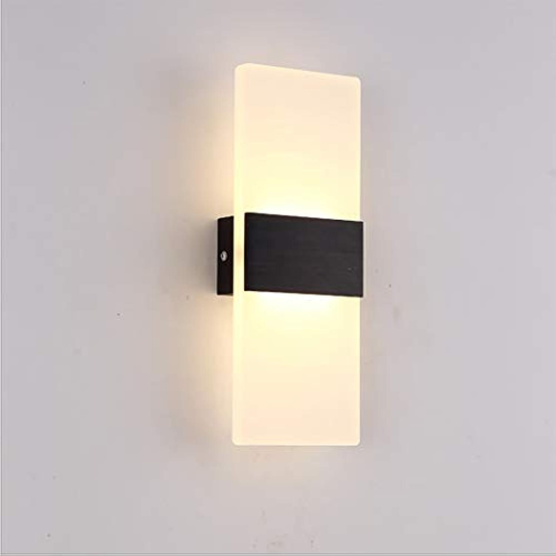 LED Wandleuchte Wandleuchte 11 Wandleuchte Leuchte für Wohnzimmer, Schlafzimmer, daneben, Flur LED 6W warmes Licht