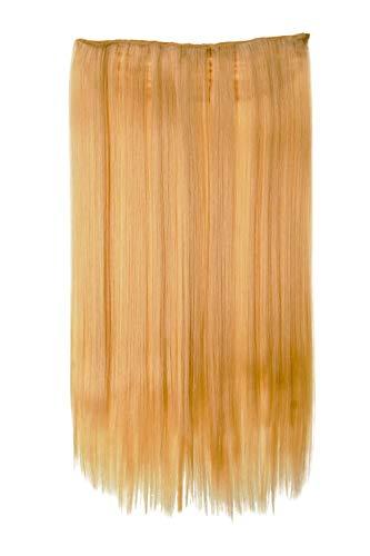 WIG ME UP - Extension large épaisissement 5 clips blond platine épaix lisse 60 cm L30172-613