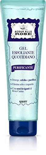 Acqua alle Rose Gel Esfoliante Quotidiano Purificante, Scrub Viso Delicato, 150 ml