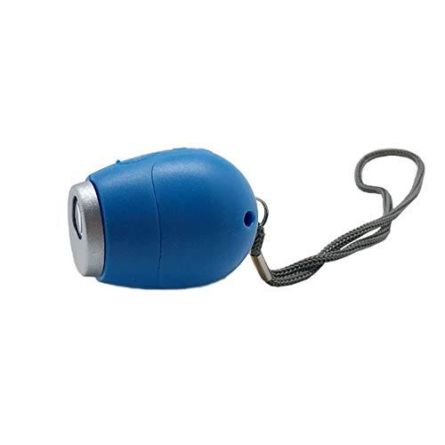 Wecker Projektions-Wecker-Digital-Datum Snooze-Funktion Hintergrundbeleuchtung Projektor Schreibtisch Tisch LED-Uhr mit Zeit-Projektion Uhr (Color : Blue no Alarm)