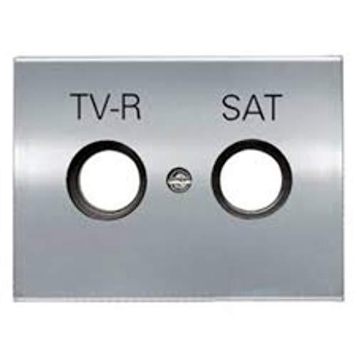 Niessen - 8450.1tt tapa para toma tv-r/sat olas titanio Ref.