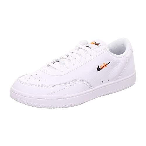 Nike Court Vintage Prem - White/Black-total orange, Größe:8.5