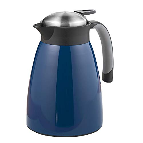 Esmeyer Isolierkanne, Edelstahl, Blau, 1 Liter