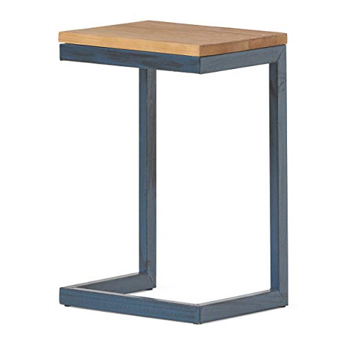 Christopher Knight Home Caspian Outdoor Firwood C Shaped Table