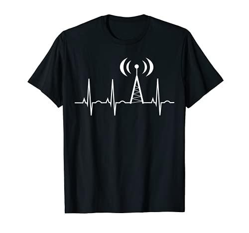 HAM Funkgeschenke für Papa Schinken Radio Heartbeat