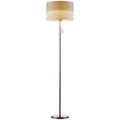 KANULAN - Lámpara de pie para salón, moderna, minimalista nordic Fashion creativa, lámpara de pie para dormitorio de estudio